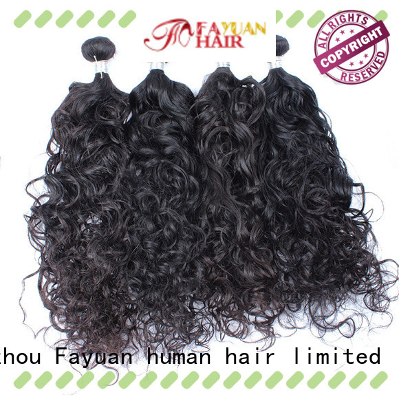 Fayuan Latest malaysian curly bundles for business for men