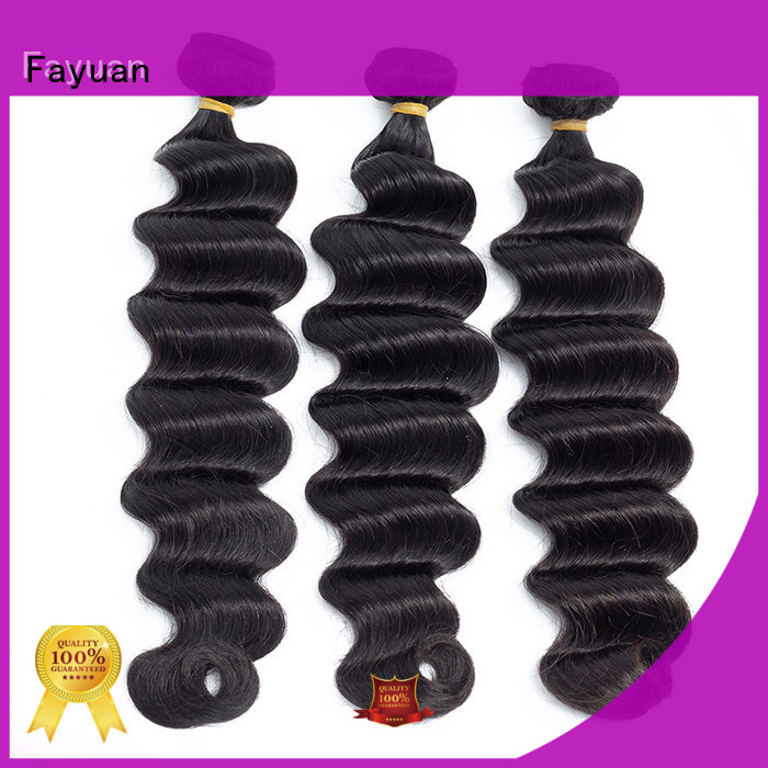 Fayuan indian real indian hair for business for women