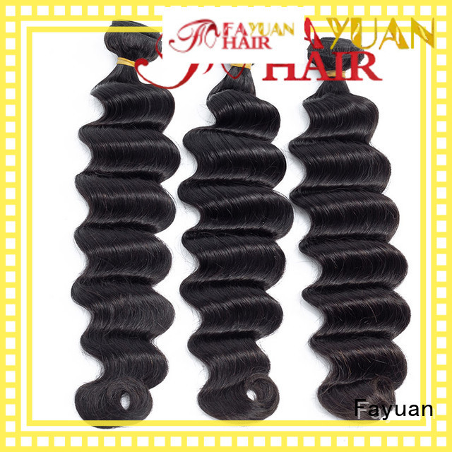 Fayuan Top indian hair weave for sale for business for street