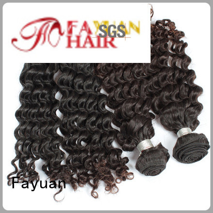Fayuan virgin deep wave hair malaysian for women
