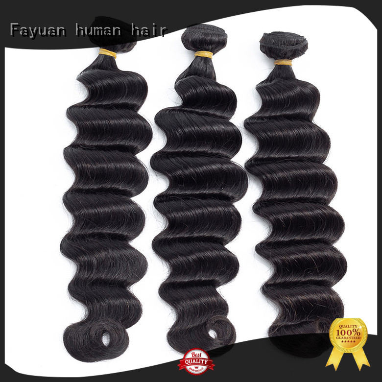 Fayuan indian deep wavy hair grade for street