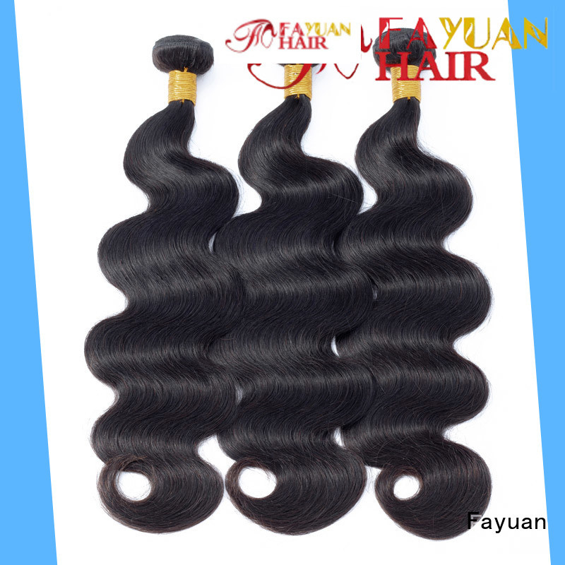 Fayuan grade peruvian hair bundles manufacturers for barbershop