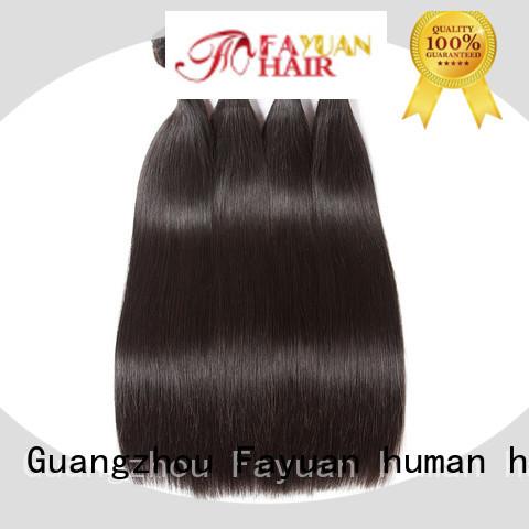 Fayuan New hair bundles Suppliers for street