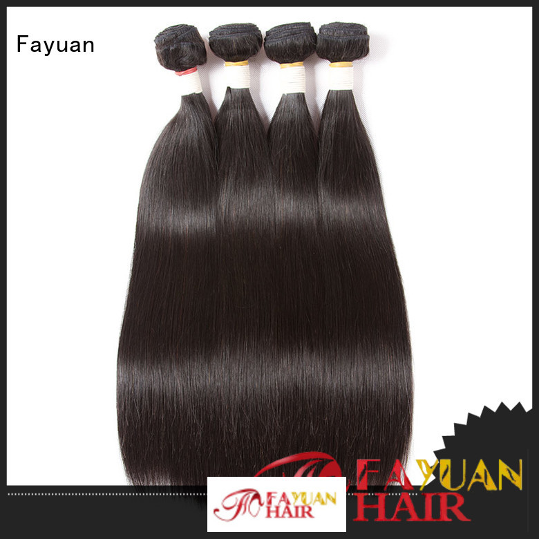 Fayuan Best cheap brazilian hair bundles Supply for street