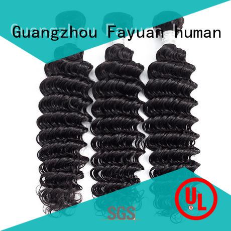 Fayuan virgin wavy weave bundles for selling