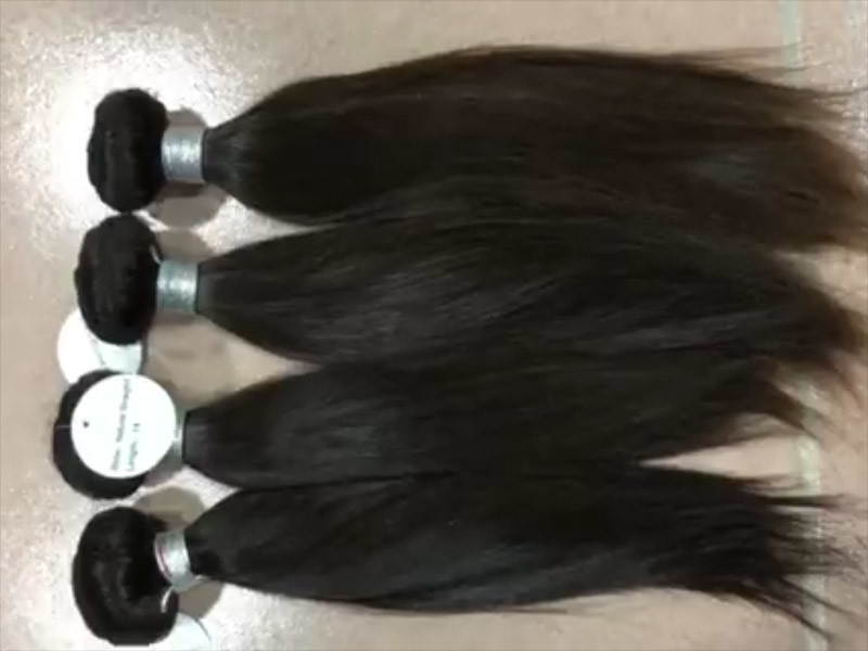 Popular Korean straight hair