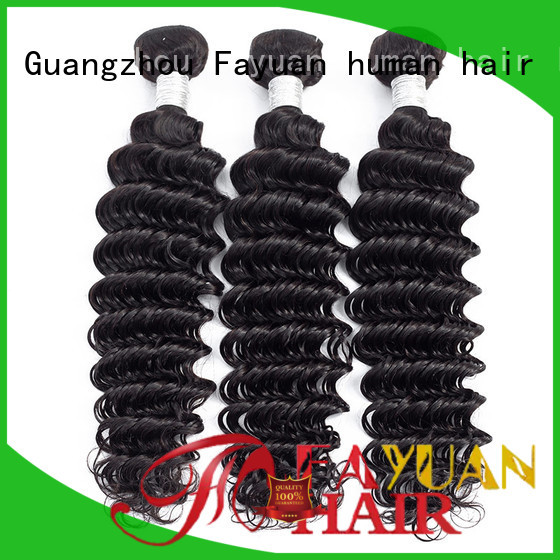 Fayuan bundles peruvian hair bundles Supply for women