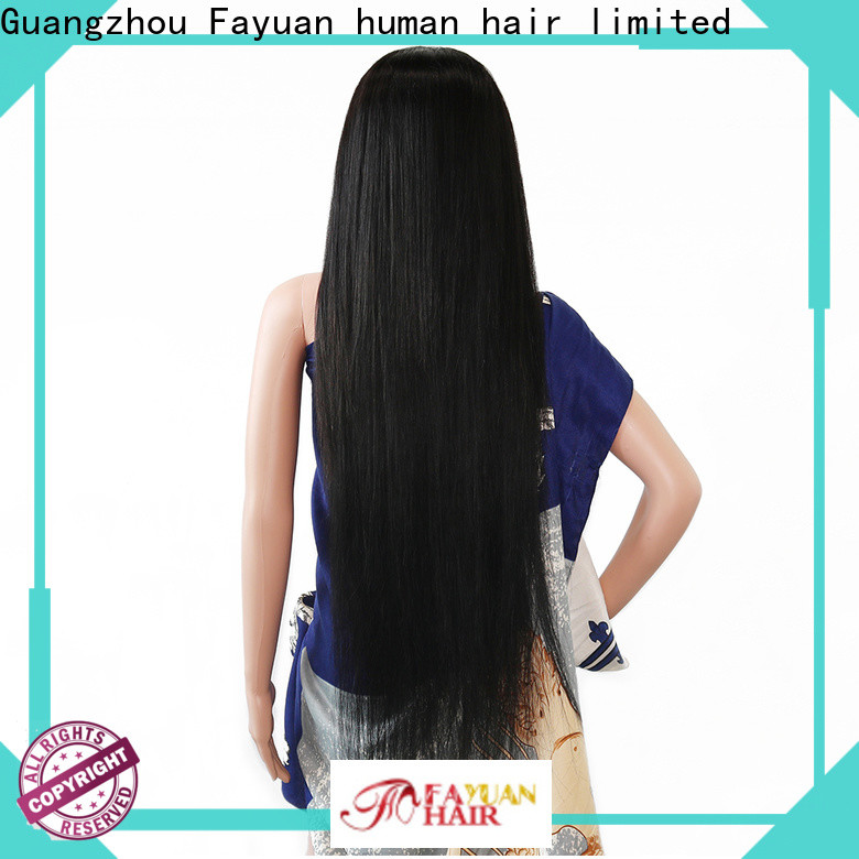 Fayuan Hair frontal custom made full lace human hair wigs for business for women