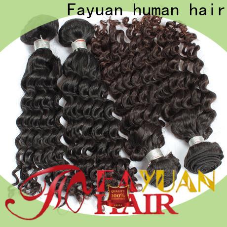 Top curly human hair deep company for barbershopp
