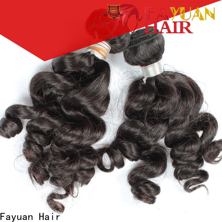 Fayuan Hair hair indian human hair factory for business for women