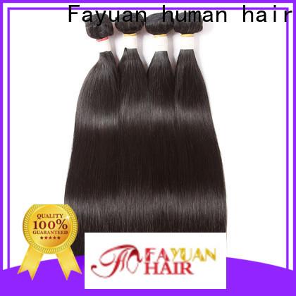 Fayuan Hair Top real brazilian hair extensions company for men