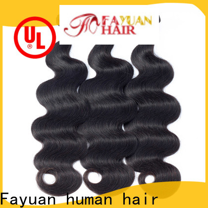 Fayuan Hair Top peruvian hair weave Supply for men