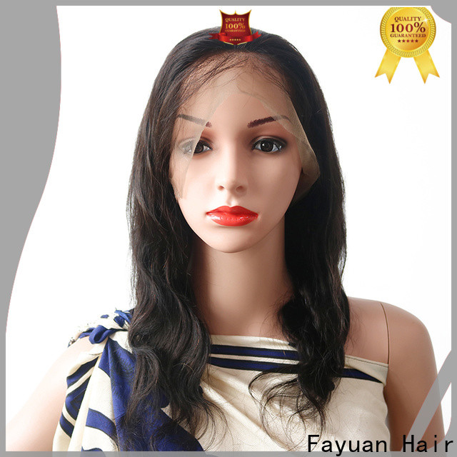 Fayuan Hair aligned best lace wigs for business for women