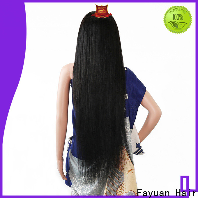 Fayuan Hair wave custom lace front Suppliers for barbershop