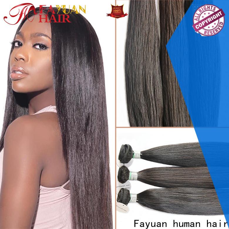 Fayuan Hair full full lace human wigs Supply for men