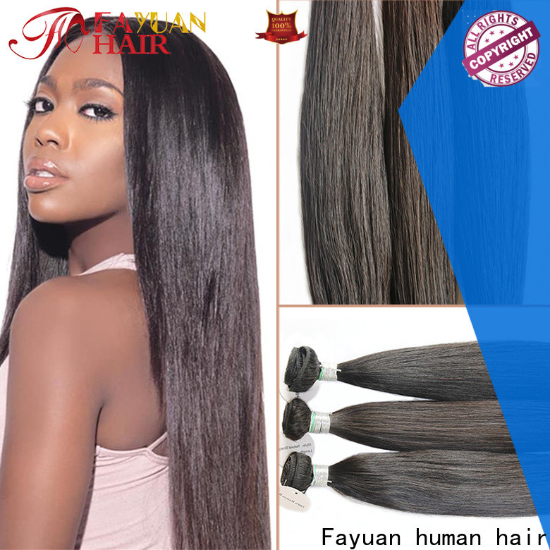 Fayuan Hair full full lace human wigs Supply for men