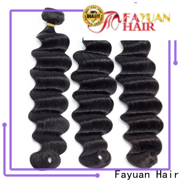 Fayuan Hair Custom indian hair weave for sale manufacturers for barbershop