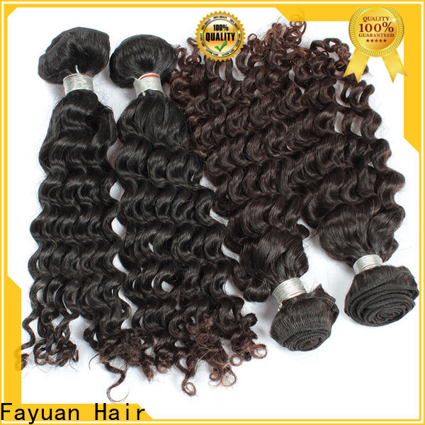 Fayuan Hair Best cheap malaysian curly hair bundles Supply for barbershopp