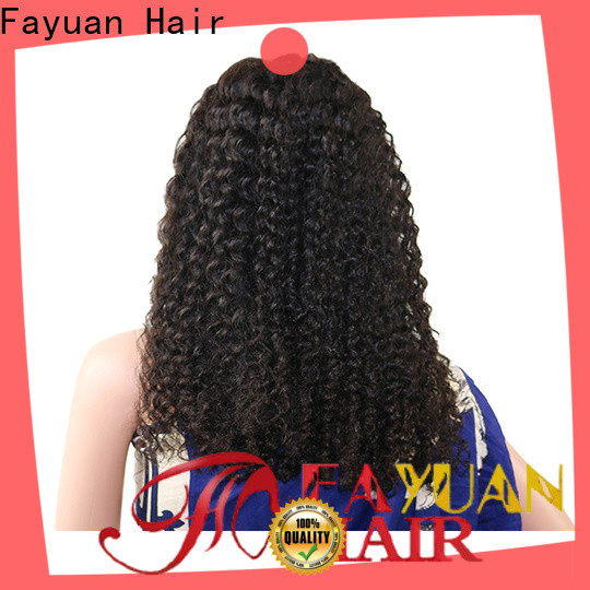 Fayuan Hair Latest affordable human hair lace front wigs for business for barbershop