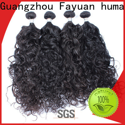 Fayuan Hair wave malaysian curly hair bundles manufacturers for selling