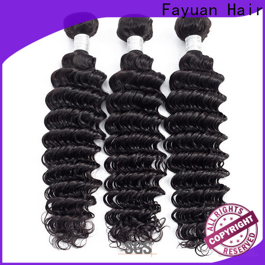 Fayuan Hair grade peruvian hair extensions wholesalers for business for street