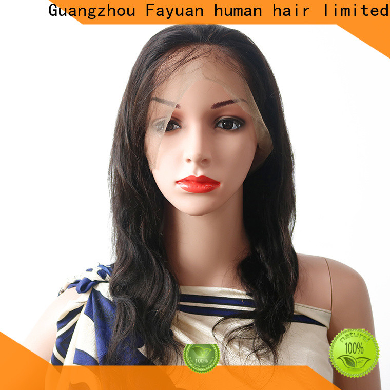 Fayuan Hair Custom short full lace wigs manufacturers for selling