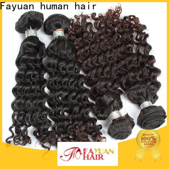 Fayuan Hair human cheap brazilian hair factory for women