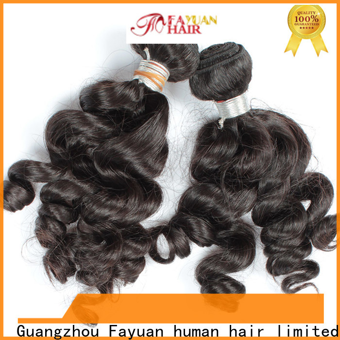 Fayuan Hair wave real indian hair weave company for street
