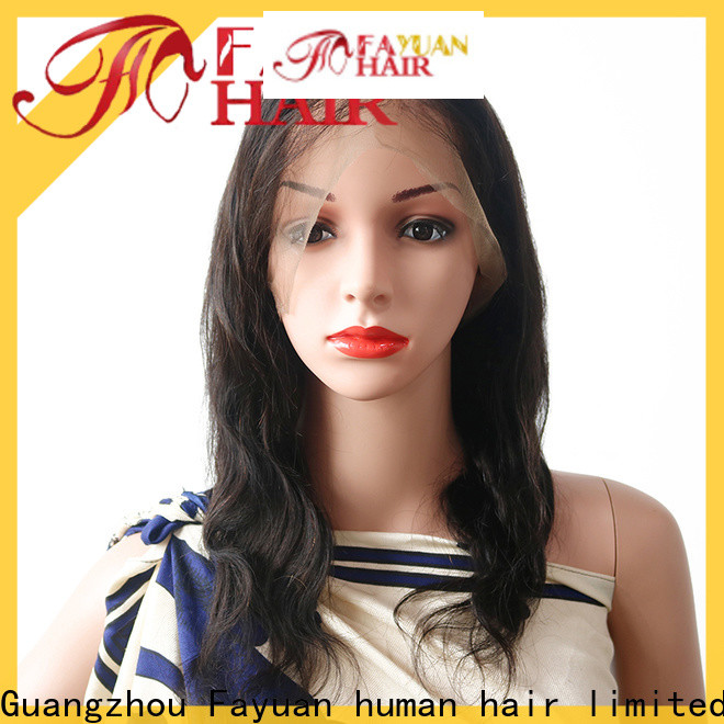 Fayuan Hair women blonde full lace wig for business for barbershop