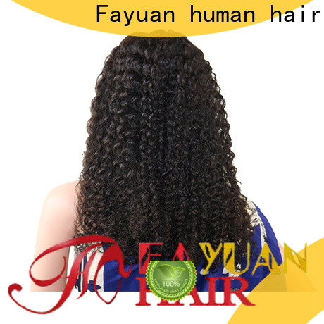 Fayuan Hair Top discount lace front wigs manufacturers for men