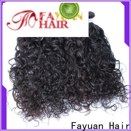 Fayuan Hair loose malaysian hair weave Suppliers for barbershopp