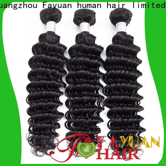 Fayuan Hair virgin peruvian hair weave for sale factory for barbershop