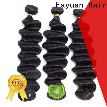 Fayuan Hair Latest indian hair weave for cheap for business for men