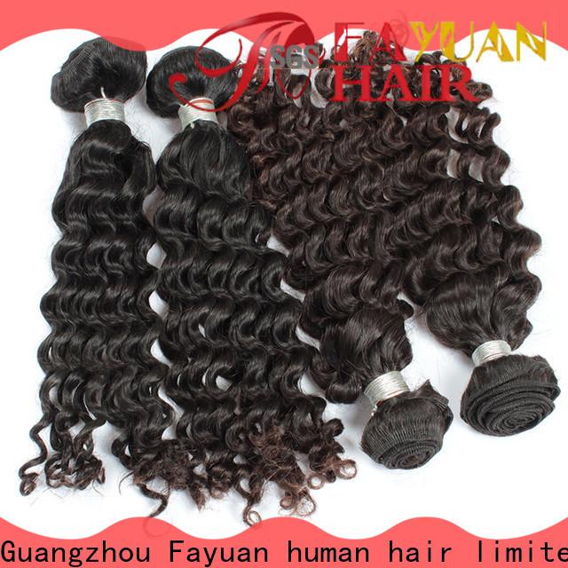 Fayuan Hair wave cheap malaysian hair bundles manufacturers for men