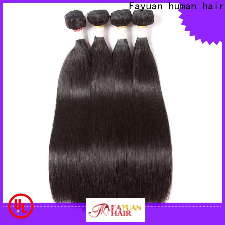 Fayuan Hair hair brazilian hair bundles deals company for street