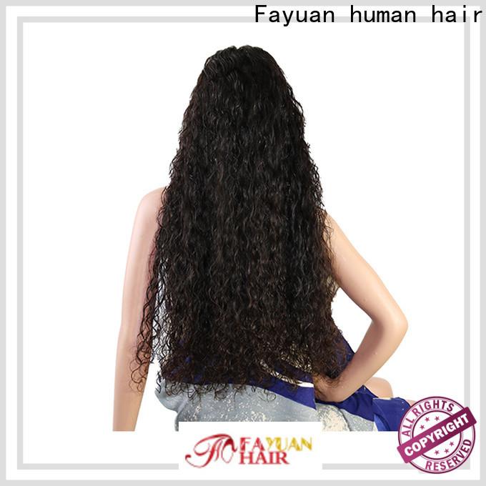 Fayuan Hair Top best custom wigs company for street