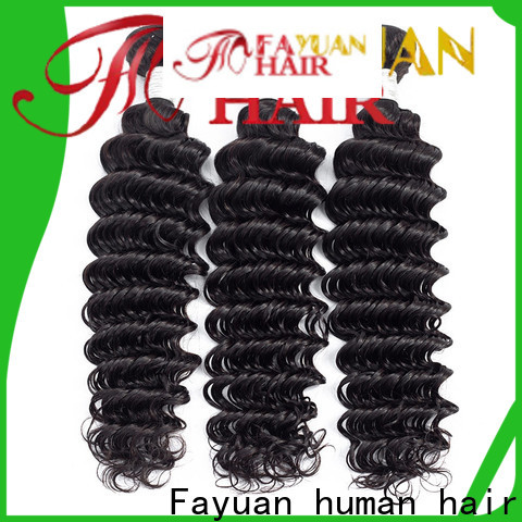 High-quality peruvian curly hair weave bundles company for barbershop