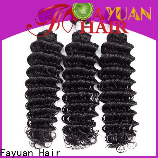 Fayuan Hair Latest peruvian curly hair extensions factory for barbershop