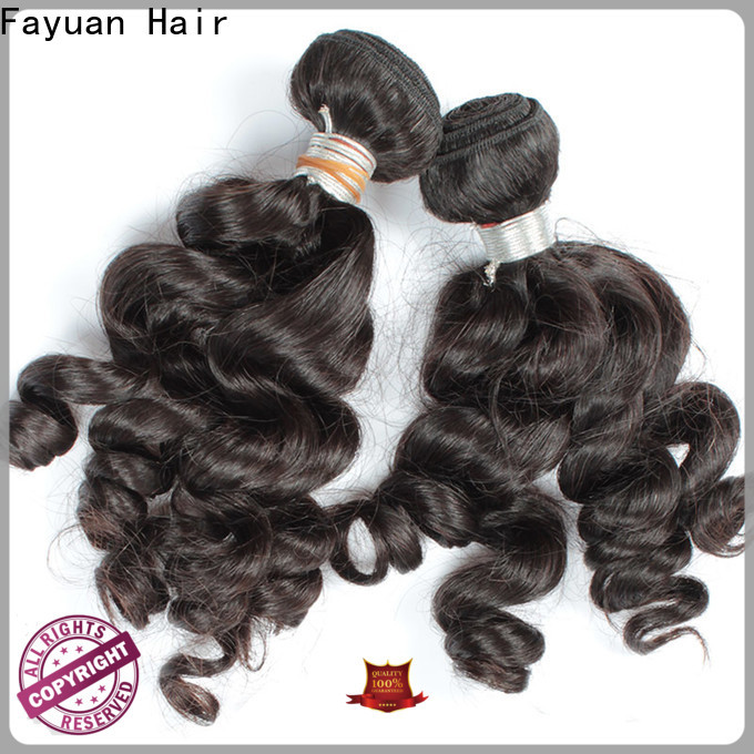 Fayuan Hair loose indian hair manufacturers for women