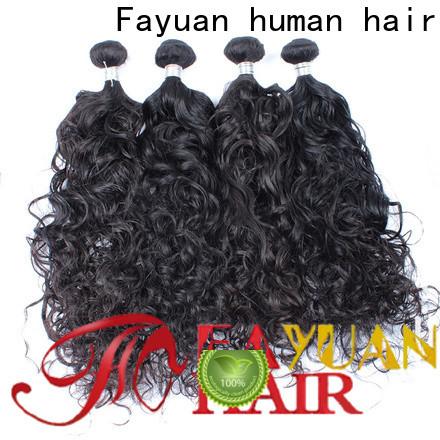 Latest malaysian wavy hair bundles virgin company for selling
