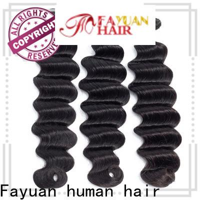 Fayuan Hair Custom cheap hair extensions for business for barbershop