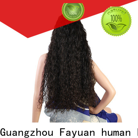 Best custom wigs for black hair deep manufacturers for street