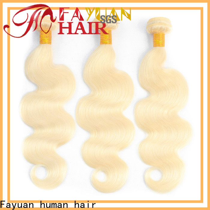 Fayuan Hair brazilian brazilian hair extensions Supply for street
