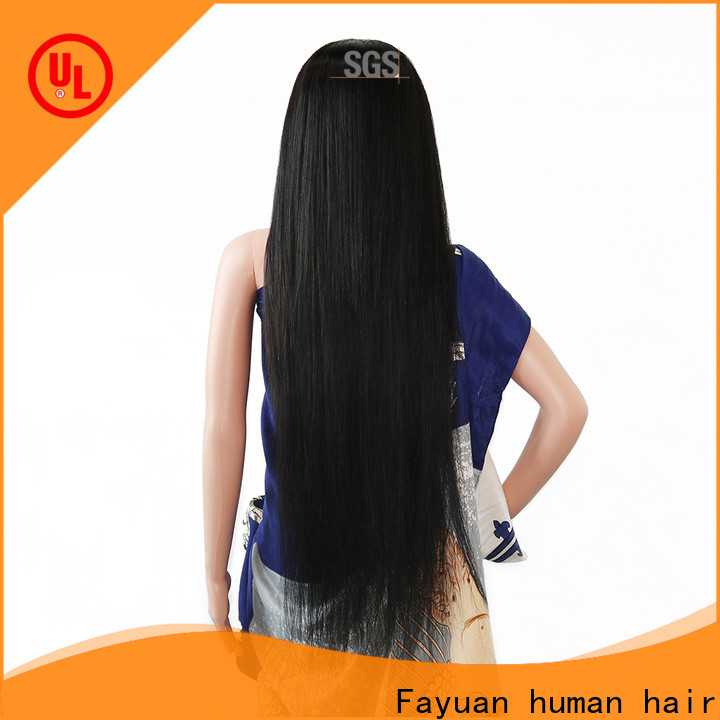 Fayuan Hair frontal custom hairpieces company for men