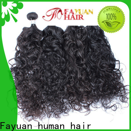 Fayuan Hair High-quality malaysian human hair weave company for street