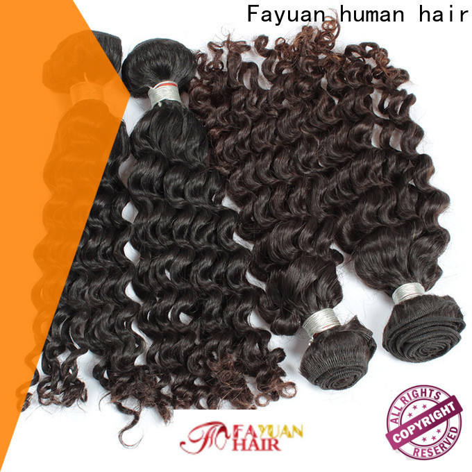 Fayuan Hair Best malaysian curly hair wig Suppliers for men