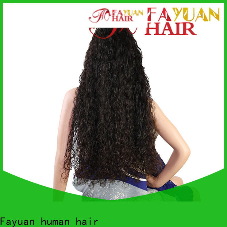 Fayuan Hair Custom custom made wigs online factory for street