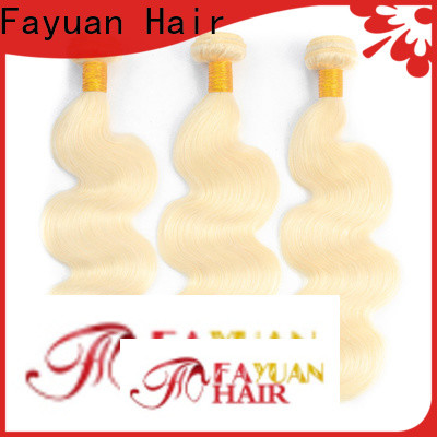 Fayuan Hair High-quality best human hair weave company for selling
