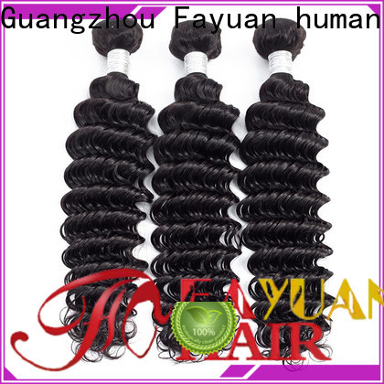 Fayuan Hair Latest curly peruvian hair extensions for business for men