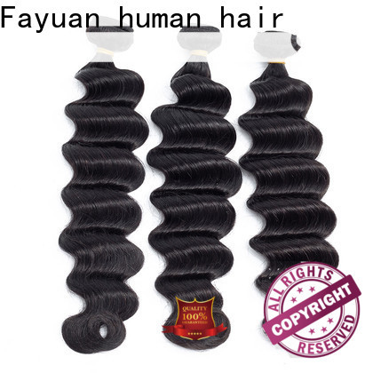 Fayuan Hair grade indian remy hair company for selling
